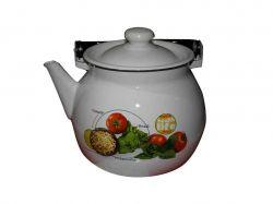 Чайник емальований 3,5л/2 Моцарелла (I27130/2) ТМIDILIA