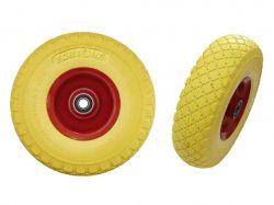 Колесо для тачки поліуретан 3.00-4 (260/75мм) арт.101101 ТМFORTUNE