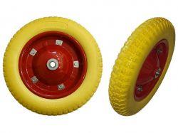 Колесо для тачки поліуретан 3.00-8 (345/65мм) арт.100954 ТМFORTUNE