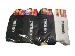 Шкарпетки чоловічі махрові (12пар в упаковці) Thermo р.41-45 ТМКлевер