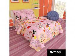 Комплект п/б дитячий дошкільний арт.N-7150-pink (ранфорс) ТМБЕЛОРУССКИЕ ТКАНИ