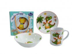 Набір для-сніданку 3 прибори Baby Dragon ТМMilika