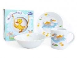 Набір для-сніданку 3 прибори Duck Family ТМMilika