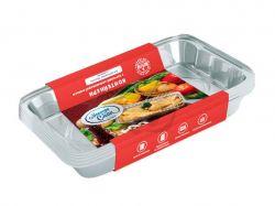 Набір контейнерів з харчової фольги (3*430мл) ТММАЕСТРО СМАК