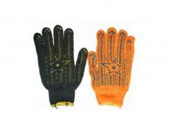Перчатки робочі з ПВХ зіркою (колір в асортименті) ТМКИТАЙ