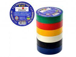 Ізоляція ПВХ 19мм*10м (кольорова) ТМSTENSON