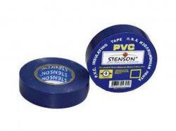 Ізоляція ПВХ 19мм*10м (синя) ТМSTENSON