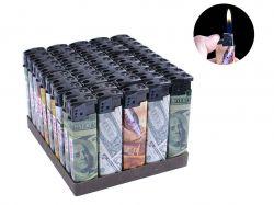Запальничка пластикова (Звичайне полумя) Долар №616-20 ТМSunOPT