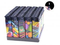 Запальничка пластикова (Звичайне полумя) Асорті №616-80 ТМSunOPT