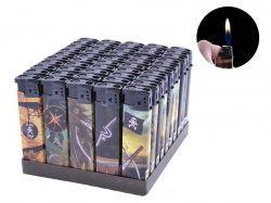Запальничка пластикова (Звичайне полумя) Пірати №616-30 ТМSunOPT