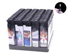 Запальничка пластикова (Звичайне полумя) Цигарки №616-70 ТМSunOPT