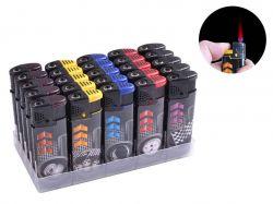 Запальничка пластикова (турбо полумя) Гонки №969-1 ТМSunOPT