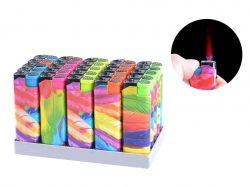 Запальничка пластикова (турбо полумя) Піря №505-4 ТМSunOPT