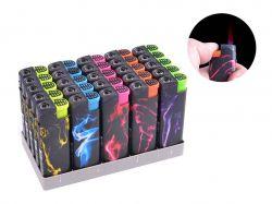 Запальничка пластикова (Турбо полумя) №505-1 ТМSunOPT