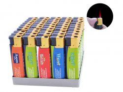 Запальничка пластикова (турбо полумя) Цигарки №111-24 ТМSunOPT