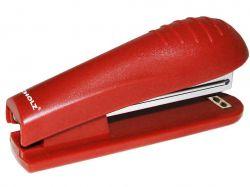 Степлер пластиковий, 15 аркушів, 10/4, 60мм, червоний, 4034 ТМScholz