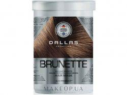 Маска для захисту темного волосся BRILLIANT BRUNETTE 1л ТМDALLAS