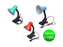 Лампа №108B з прищіпкою металопластик 18166 ТМOPV