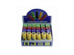 Ліхтар №608-9 пластик з мотузкою 3 кольори 26374 ТМFLASHLIGHT