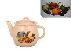 Чайник емальований 1,0л/2 Вітамінка з полою руч. (I27071/2) ТМIDILIA