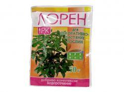 Добриво водорозчине NPK для декоративно- листяних 50г ТМЛОРЕН