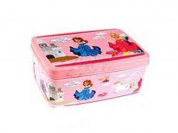 Коробка для речей з кришкою 3.5л прямокутна №2 180х250х100мм Принцеса ТМELIF
