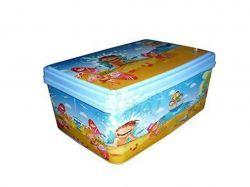 Коробка для речей з кришкою 5.5л №3 200х280х120мм Морські канікули ТМELIF