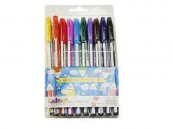 Ручка кулькова №HC-563-10 синій 10 кольорів 24299 ТМКИТАЙ