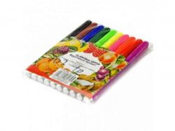 Фломастери фрукти 10 кольорів №808-10-У товстий 02971 ТМКИТАЙ