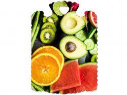 Дошка обробна (28х21,5х6см) Фрукти та ягоди 23809 ТМСЛОВЯНОЧКА