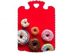 Дошка обробна (28х21,5х6см) Пончики 23806 ТМСЛОВЯНОЧКА
