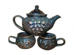 Набір чайний 3 предмети Традиційний червона глина ТМТОРСКИЙ