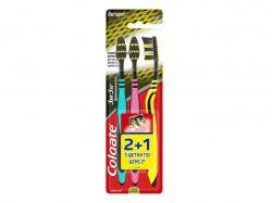 Зубна щітка середня (Зиг Заг Деревне вугілля) 21 безкоштовно ТМCOLGATE