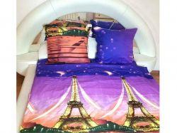 Комплект постільної білизни 1,5 спальний 70*70 полібязь 3Д арт. 8 ТМConstancy