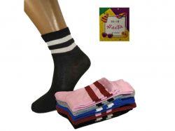 Шкарпетки жіночі спорт стрейч арт.269-082 р.36-39 (12 пар/уп) ТМНАСТЯ