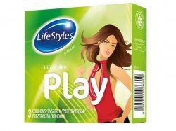 Презервативи Play латексні 3шт ТМLifeStyles