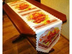 Доріжка на стіл великодня 36х135см, арт.19 ТМBELLO-PRINT