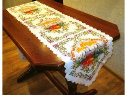 Доріжка на стіл великодня 36х135см, арт.21 ТМBELLO-PRINT