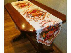Доріжка на стіл великодня 36х210см, арт.20 ТМBELLO-PRINT