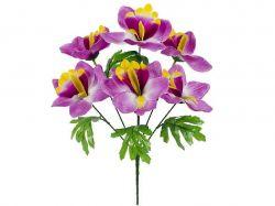 Букет штучних Орхідей, 36см (г-6;р-11) 150 2шт. ТМКИТАЙ