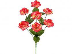 Букет штучних трояндочок Милашка, 36см (г-7; р-10) 482 2шт. ТМКИТАЙ