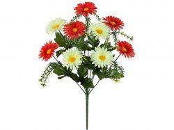 Букет різнокольорових хризантем, 45см (р-5, г-10) 689 2шт. ТМКИТАЙ