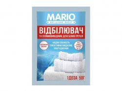 Відбілювач для білих тканин 50гр ТМMario