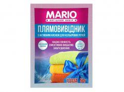 Плямовивідник для кольорових речей 50гр ТМMario