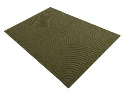 Килимок побутовий текстильний К-501-3 ( коричневий) ТМYPGROUP