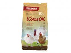 Комбікорм для бройлерів та індиків СТАРТ (1-18 днів) КоlosOK 10кг ТМO.L.KAR