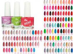 Лак для нігтів mini 011 (NP-16) яскраво-рожевий ТМCOLOR INTENSE