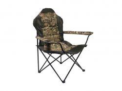 Крісло складне Рибак Люкс труба d=18 кол. мілітарі ТМSENYA