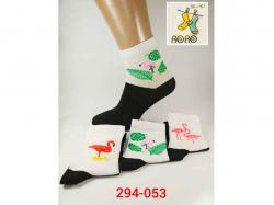 Шкарпетки жіночі стрейч 294-053 р.36-40 (12 пар) ТМRoro