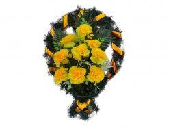 Кошик з квітами політелен №564/605 (50х40см) ТМХАРЬКОВ